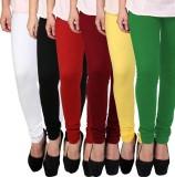 Rizom Women's Multicolor Leggings (Pack ...