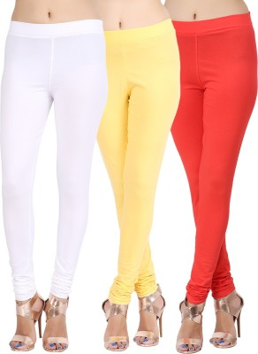 Lula Ms Women's White, Yellow, Red Leggings