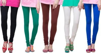 Look & Hook Women's Multicolor Leggings
