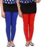 carrol Women's Red, Blue Leggings (Pack ...