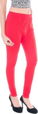 Kashish Enterprises Women's Red Leggings