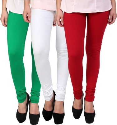 Uzee Women's Multicolor Leggings(Pack of 3) at flipkart