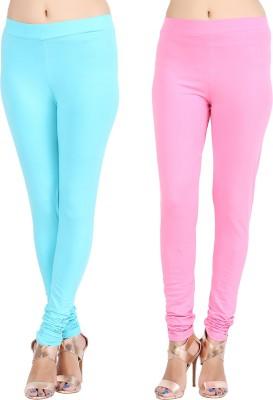 Lula Ms Women's Light Blue, Pink Leggings