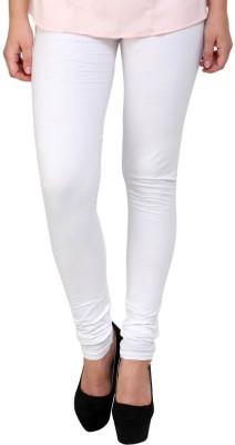 Dharamanjali Women's White Leggings