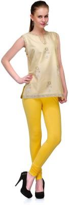 Track deal Women's Yellow Leggings