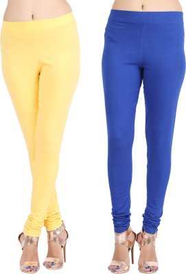 Lula Ms Women's Yellow, Dark Blue Leggings