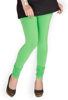 Huggers Women's Green Leggings