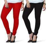 Twister Women's Black, Red Leggings (Pac...