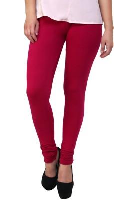 MemSahiba Girl's Pink Leggings