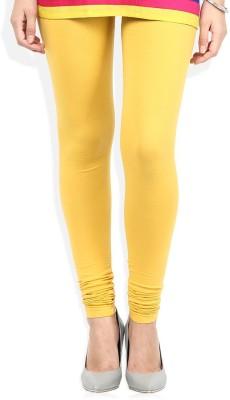 AS FASHION Women's Maroon, Yellow, Black Leggings