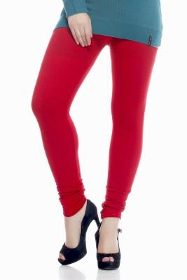 kem Flow Gold Women's Red Leggings