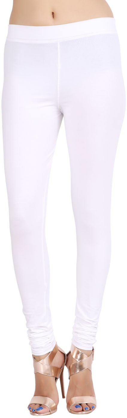 Lula Womens White Leggings