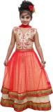 Ishika Garments Girls Lehenga Choli Self...