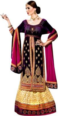 Vogue4all Embroidered Women's Ghagra, Choli, Dupatta Set