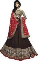 Vimush Fashion Chaniya, Ghagra Cholis - Vimush Fashion Embroidered Women's Lehenga, Choli and Dupatta Set(Stitched)