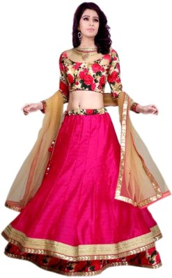 lizarefashion Georgette Printed Lehenga Choli Material