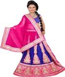 Moni Fashion Embroidered Women's Lehenga...