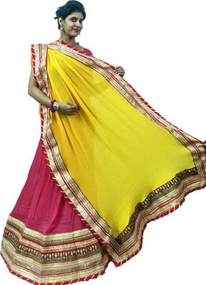 Pri Kushal Enterprises Embroidered Women's Lehenga, Choli and Dupatta Set
