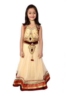 Arshia Fashions Embroidered Girl's Lehenga Choli