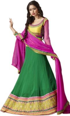 Kataria Fabrics Embroidered Women's Ghagra, Choli, Dupatta Set