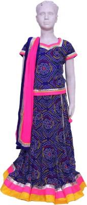 Sohardhastshilp Self Design Women's Lehenga, Choli and Dupatta Set