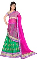 Sonika Chaniya, Ghagra Cholis - Sonika Embroidered Women's Lehenga, Choli and Dupatta Set(Stitched)