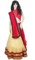 Gurukripa Chaniya, Ghagra Cholis - Gurukripa Self Design Women's Lehenga, Choli and Dupatta Set(Stitched)