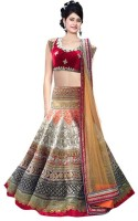 Alina Fashion Chaniya, Ghagra Cholis - Alina Fashion Embroidered Women's Ghagra Choli(Stitched)