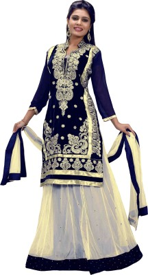 JS Pavitra Fabrics Embroidered Women's Lehenga Choli