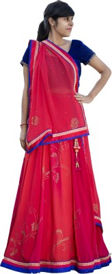 Paavani Embellished Women's Lehenga, Choli and Dupatta Set