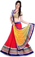 21st Fashion Chaniya, Ghagra Cholis - 21st fashion Embroidered Women's Lehenga, Choli and Dupatta Set(Stitched)