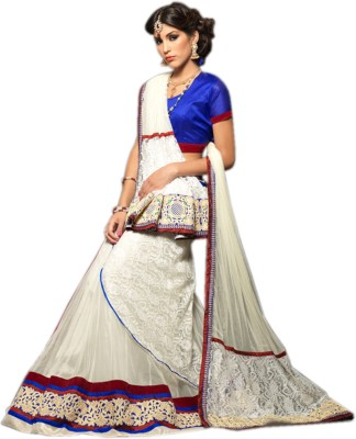 Thankar Embroidered Women's Lehenga, Choli and Dupatta Set
