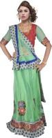 Suvastra Designer Chaniya, Ghagra Cholis - Suvastra Designer Embroidered Women's Ghagra, Choli, Dupatta Set(Stitched)