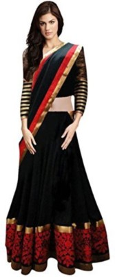 Aagamanfashion Embroidered Women's Lehenga, Choli and Dupatta Set