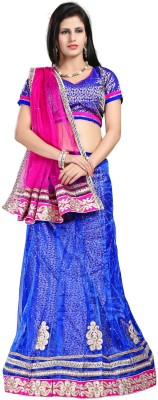 Sareeka Sarees Self Design Women,s Lehenga, Choli and Dupatta Set