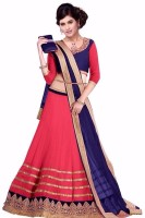 Vr Fashion Chaniya, Ghagra Cholis - VR Fashion Embroidered Women's Lehenga, Choli and Dupatta Set(Stitched)