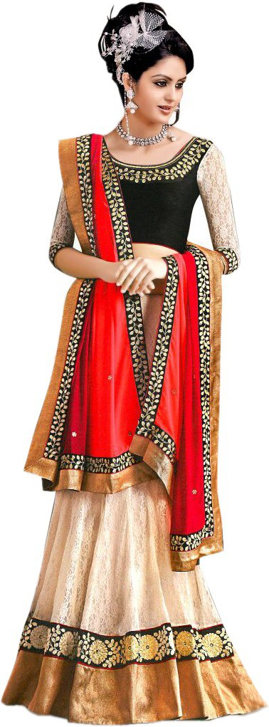 Rudraksh Fashion Embriodered Bollywood Pure Georgette Sari
