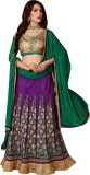 Avtrendz Embroidered Women's Lehenga, Ch...