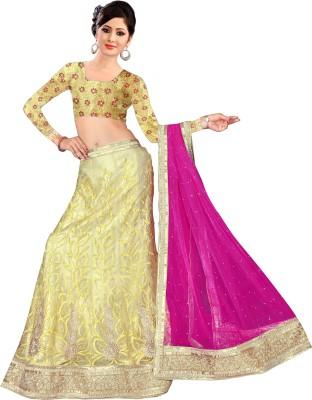 Triveni Creation Embroidered Women's Ghagra, Choli, Dupatta Set