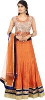 Libass Chaniya, Ghagra Cholis - Libass Embellished Women's Lehenga, Choli and Dupatta Set(Stitched)