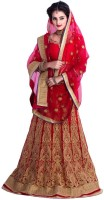 Rudra Fashion Chaniya, Ghagra Cholis - Rudra Fashion Embroidered Women's Lehenga Choli(Stitched)