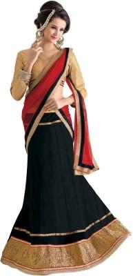 Livaaz Self Design Women's Lehenga, Choli and Dupatta Set