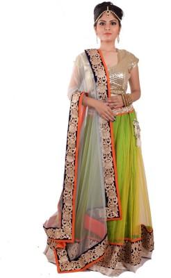 Ambika Embroidered Women's Lehenga, Choli and Dupatta Set