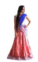 Nikhar Chaniya, Ghagra Cholis - Nikhar Self Design Women's Lehenga, Choli and Dupatta Set(Stitched)