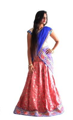 Nikhar Self Design Women's Lehenga, Choli and Dupatta Set
