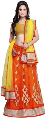 Navya Embroidered Women's Lehenga, Choli and Dupatta Set