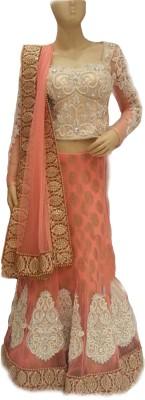 Isha Enterprise Embroidered Women's Lehenga, Choli and Dupatta Set