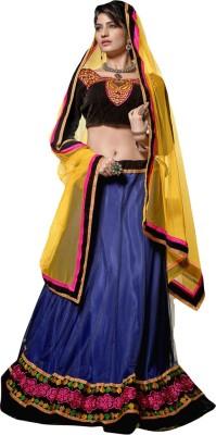Livaaz Embellished Women's Lehenga, Choli and Dupatta Set(Stitched) at flipkart