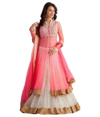 3g9 Shop Embroidered Women's Lehenga, Choli and Dupatta Set(Stitched) at flipkart