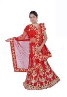 Women's Clothing - Aggarwal Traders Self Design Women's Lehenga Choli(Stitched)
